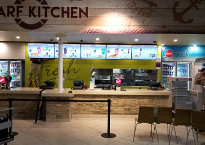 Wharf kitchen electrical fit out