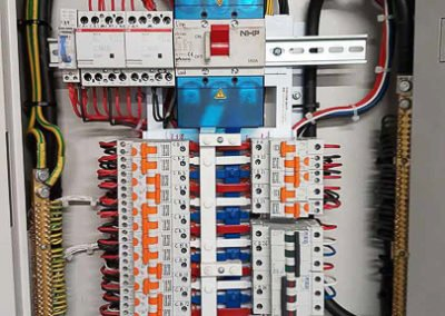 Electrical switch box control for all area