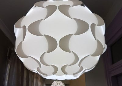 Pendant light fitting installations by Safe N Sound